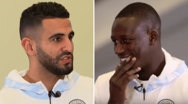 Riyad Mahrez appears to have confirmed Fernandinho will be leaving Premier League champions Manchester City