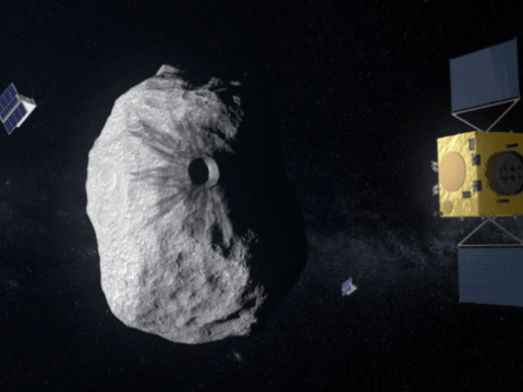 ESA and Nasa launch 'planetary defence' mission to protect Earth from doomsday asteroids