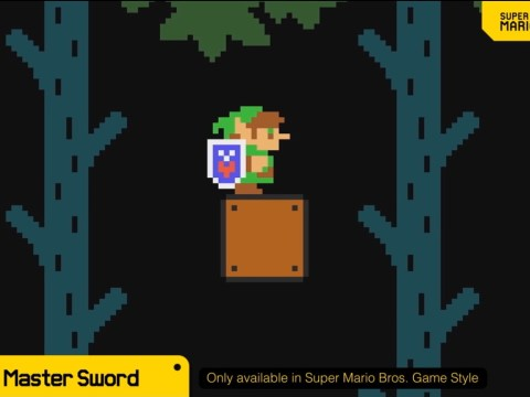 Super Mario Maker 2 update adds Link and Master Sword from The Legend Of Zelda
