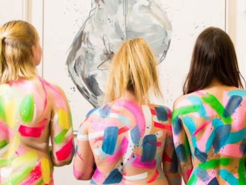 Artist creates exhibition of naked paintings after asking women to 'send nudes'