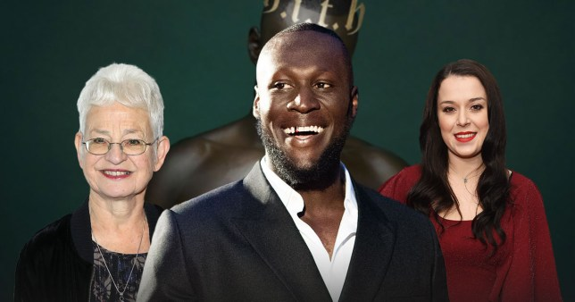 Jacqueline Wilson, Stormzy, and Dani Harmer