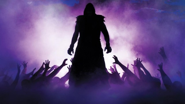 The Undertaker's iconic entrance