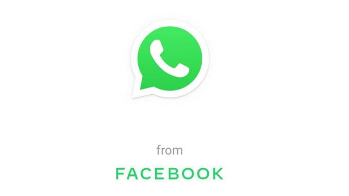 WhatsApp users will now see Facebook's logo on the app (Facebook)