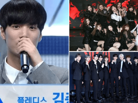 NU'EST's JR 'dropped from Wanna One line-up' as X1 and IZ*ONE members 'pre-decided on Produce 101'