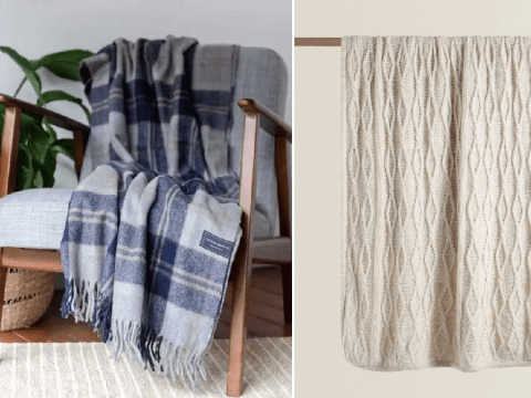 Seven blankets to keep you warm when the winter chill arrives