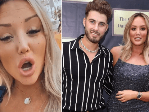 Charlotte Crosby accuses ex Josh Ritchie of using her for fame as he signs up for Celebs Go Dating