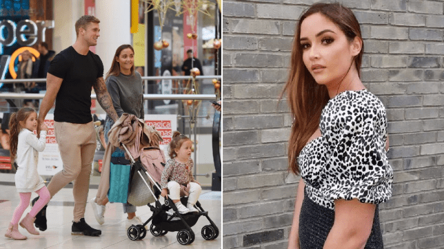 I'm A Celebrity's Jacqueline Jossa shuts down pregnancy rumours as she enjoys day out with Dan Osborne