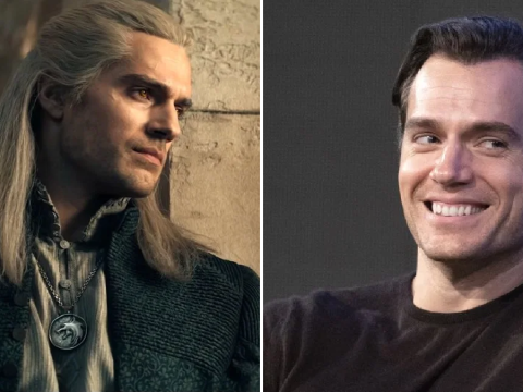 Henry Cavill warned he'd 'start to go blind' wearing Geralt's contacts filming The Witcher