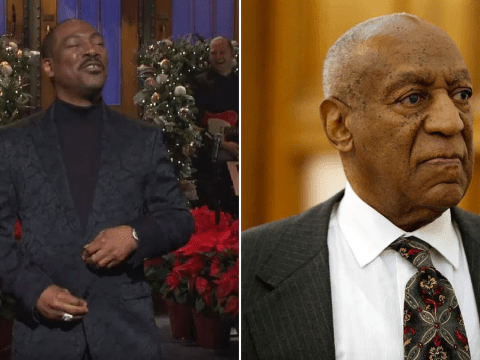 Bill Cosby brands Eddie Murphy a 'Hollywood slave' as disgraced comedian hits back over SNL joke