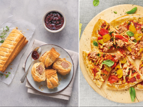 Aldi launches more vegan meals ahead of Veganuary including rosemary 'sausages' and plant-based pizza