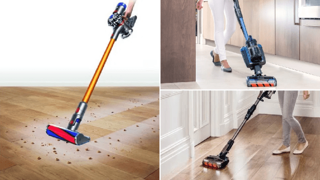 Dyson and Shark vacuums that are on offer this Cyber Monday