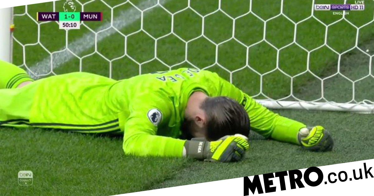 Ole Gunnar Solskjaer reacts to David de Gea howler and Manchester Uniteds defeat to Watford