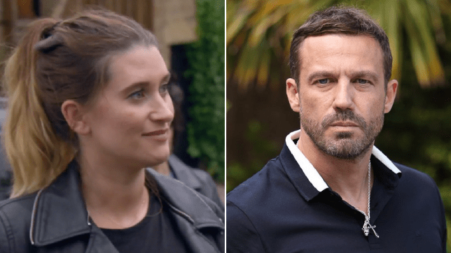 Debbie Dingle in Emmerdale and Warren Fox in Hollyoaks