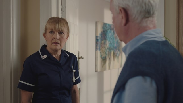 Duffy panics in Casualty