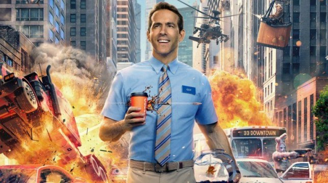 New Ryan Reynolds film Free Guy is basically GTA Online: The Movie