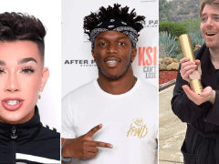 James Charles and KSI lead list of UK's most-watched videos in 2019