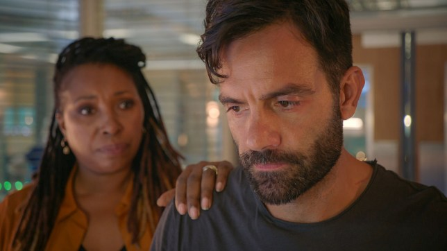 Kian and Max in Holby City