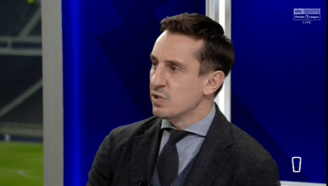 Gary Neville questioned Ole Gunnar Solskjaer's comments on Paul Pogba