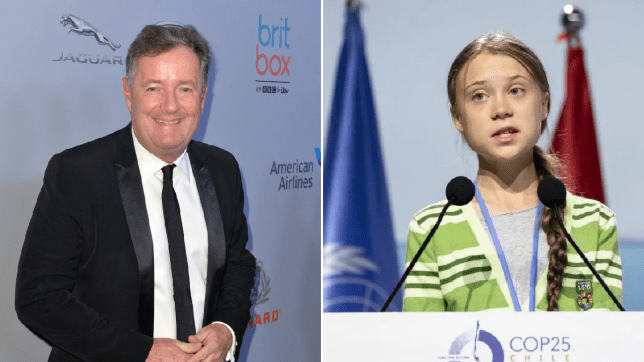Piers Morgan congratulates Greta Thunberg on Time magazine cover and 'stunning impact' on climate change