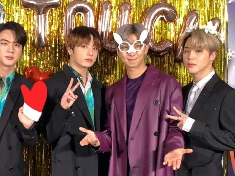 BTS get fully festive on the red carpet ahead of SBS Gayo Daejeon Silent Night performance