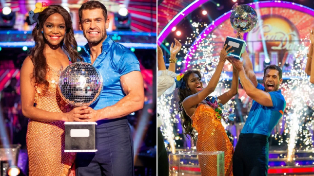 Strictly 2019 champion Oti Mabuse praises Kelvin Fletcher in emotional post after their win