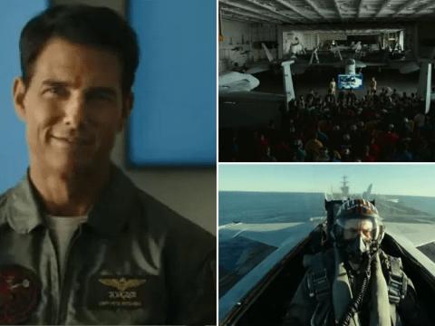 Tom Cruise teaches the new school of daredevil pilots in stomach-flipping Top Gun: Maverick trailer