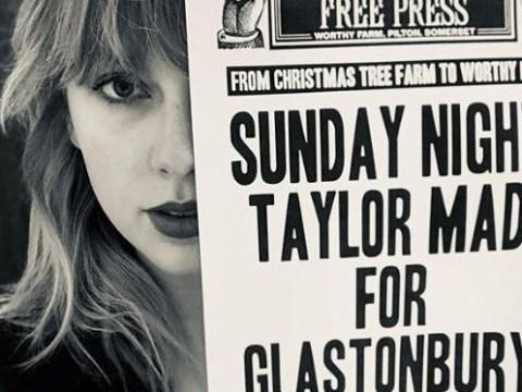 Taylor Swift confirms she's headlining Glastonbury 2020 joining Aerosmith and Sir Paul McCartney