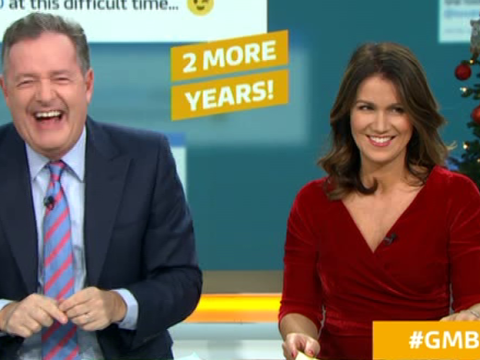 Piers Morgan reveals he'll quit Good Morning Britain hours after signing two-year contract: 'This is my swan song'