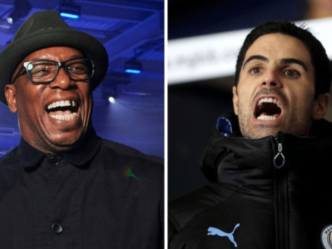 Ian Wright responds to Arsenal fan claiming players won't 'respect' Mikel Arteta