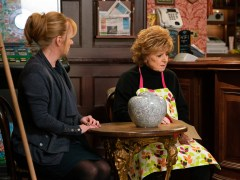 Corrie legend fears being axed from show