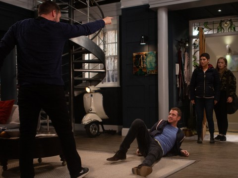 Emmerdale spoilers: Aaron Dingle lashes out at Victoria Barton and Liv Flaherty tonight