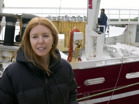 Stacey Dooley watches on as whales and dolphins are butchered in harrowing new show