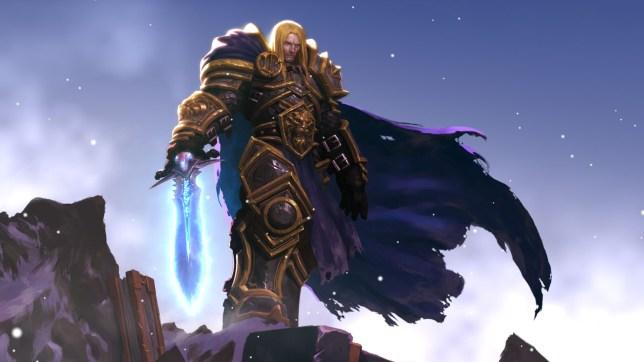 Warcraft 3 key art
