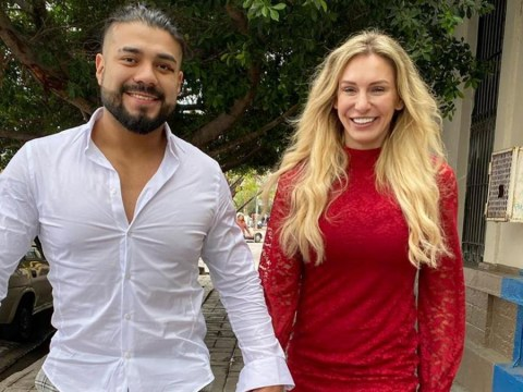 WWE's Charlotte Flair and Andrade would love to team together under the right circumstances after engagement news