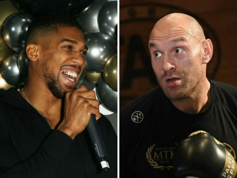 Anthony Joshua vs Tyson Fury targeted for May, says Eddie Hearn