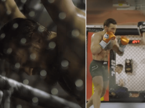 Conor McGregor gives rare glimpse into training camp for UFC return