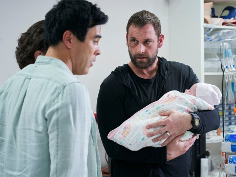 Home and Away spoilers: Justin and Robbo in custody row over baby Grace
