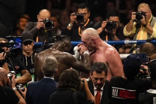 Wilder and Fury's 2018 fight ended in a draw
