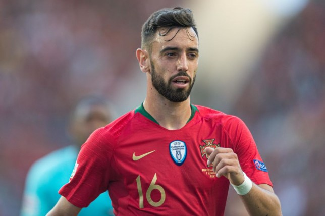 Sporting midfielder Bruno Fernandes set for Man Utd