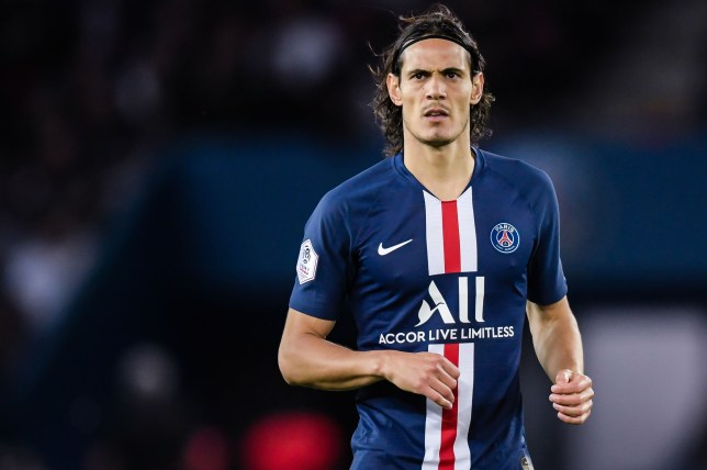 Chelsea have held talks with PSG to sign Edinson Cavani this January