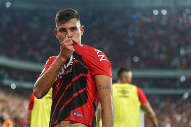 Bruno Guimaraes has broken his silence on the Arsenal transfer links