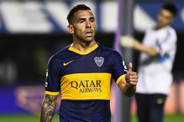 Carlos Tevez would be a 'great option' for Manchester United, says Dimitar Berbatov