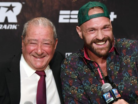 Bob Arum would jump at chance to stage Tyson Fury vs Anthony Joshua after Deontay Wilder fight
