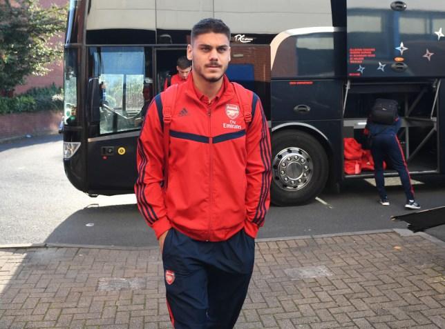 Arsenal defender Konstantinos Mavropanos to leave on loan
