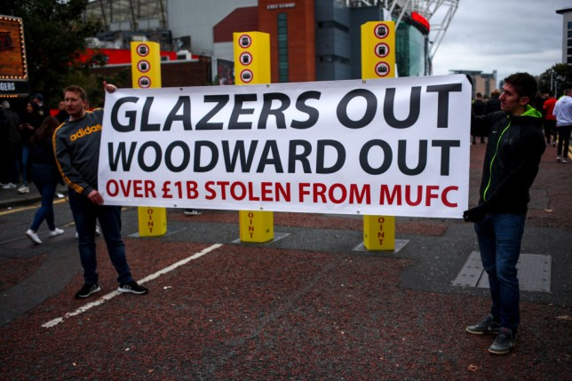 Manchester United protest