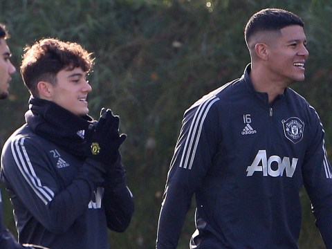 Daniel James admits he tries to avoid Marcos Rojo in Manchester United training