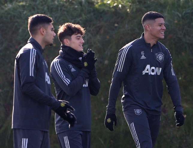 Daniel James says Marcos Rojo is Manchester United's 'hardest' player