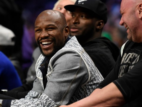 Floyd Mayweather releases Conor McGregor rematch poster after rival's UFC return