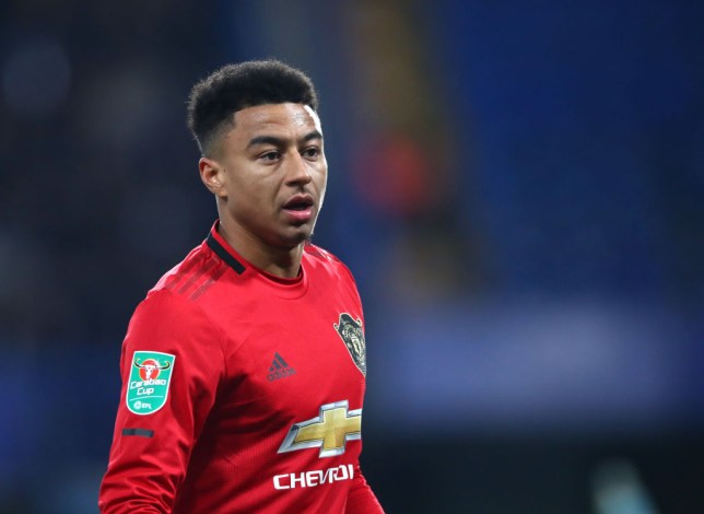 Manchester United's coaching staff were unhappy with Jesse Lingard after the defeat to Manchester City