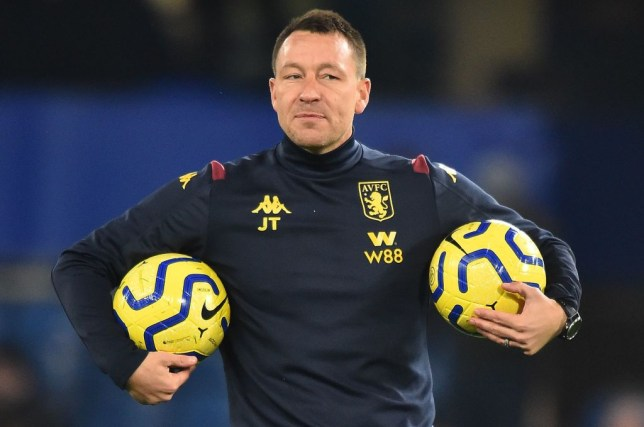 Former Chelsea captain John Terry is currently assistant manager at Aston Villa